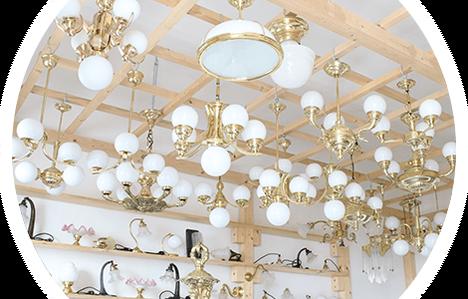 Starožitná svítidla - starožitné lampy