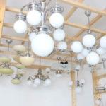 showroom starožitných a retro svítidel